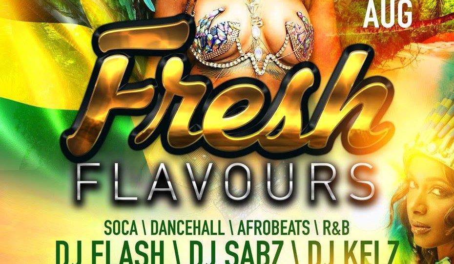 fresh flavours dj sabz kr events wassmuffin